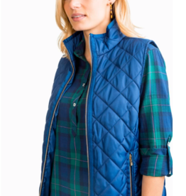 Southern Tide Quilted Vest
