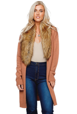 Buddy Love Mandy Fur Cardigan