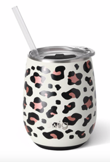 Luxury Leopard Stemless Wine Cup