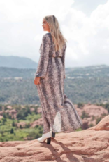 Buddy Love Dolly Elastic Waist Long Sleeved Maxi Dress