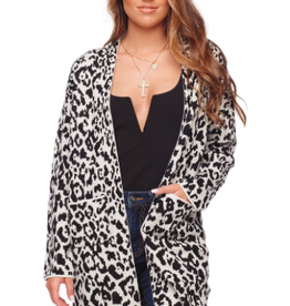Buddy Love Tina Animal Print Cardigan
