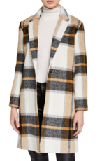 Cupcakes & Cashmere Cher Check Jacket
