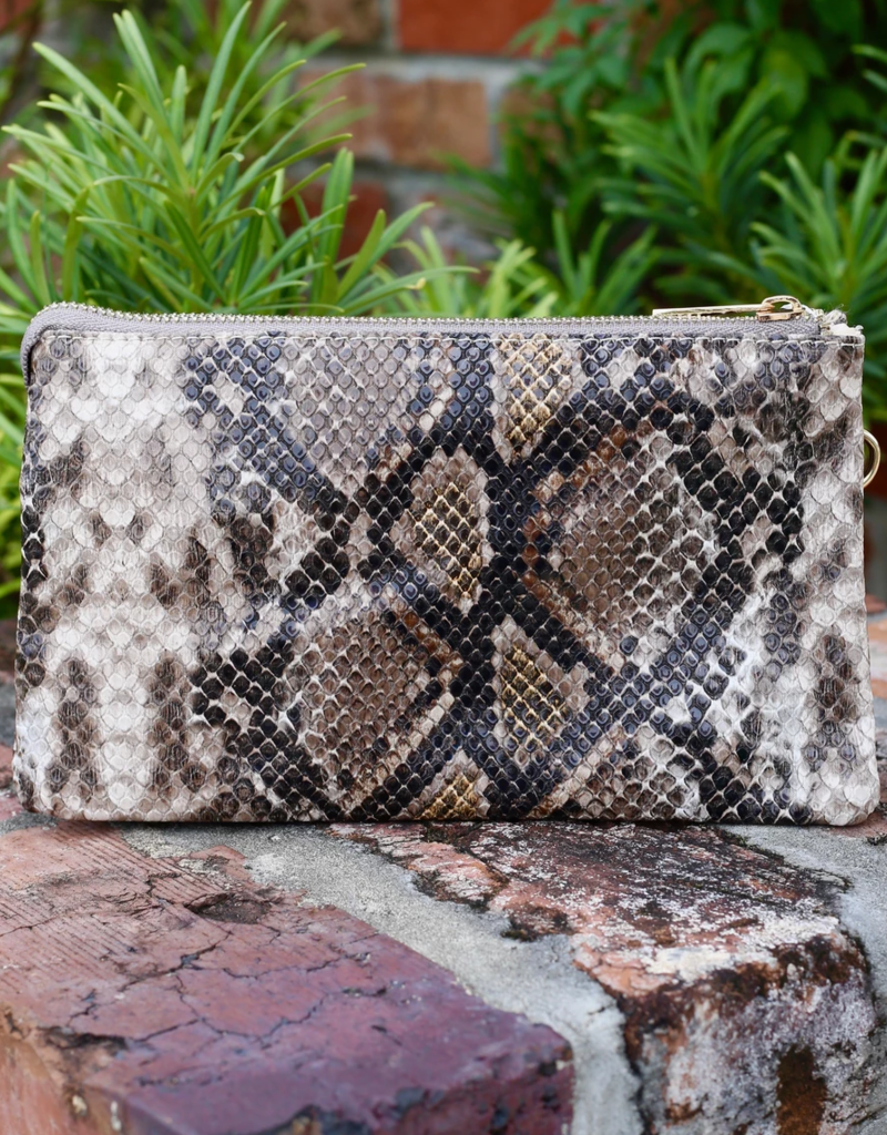 Liz Snake Crossbody Bag