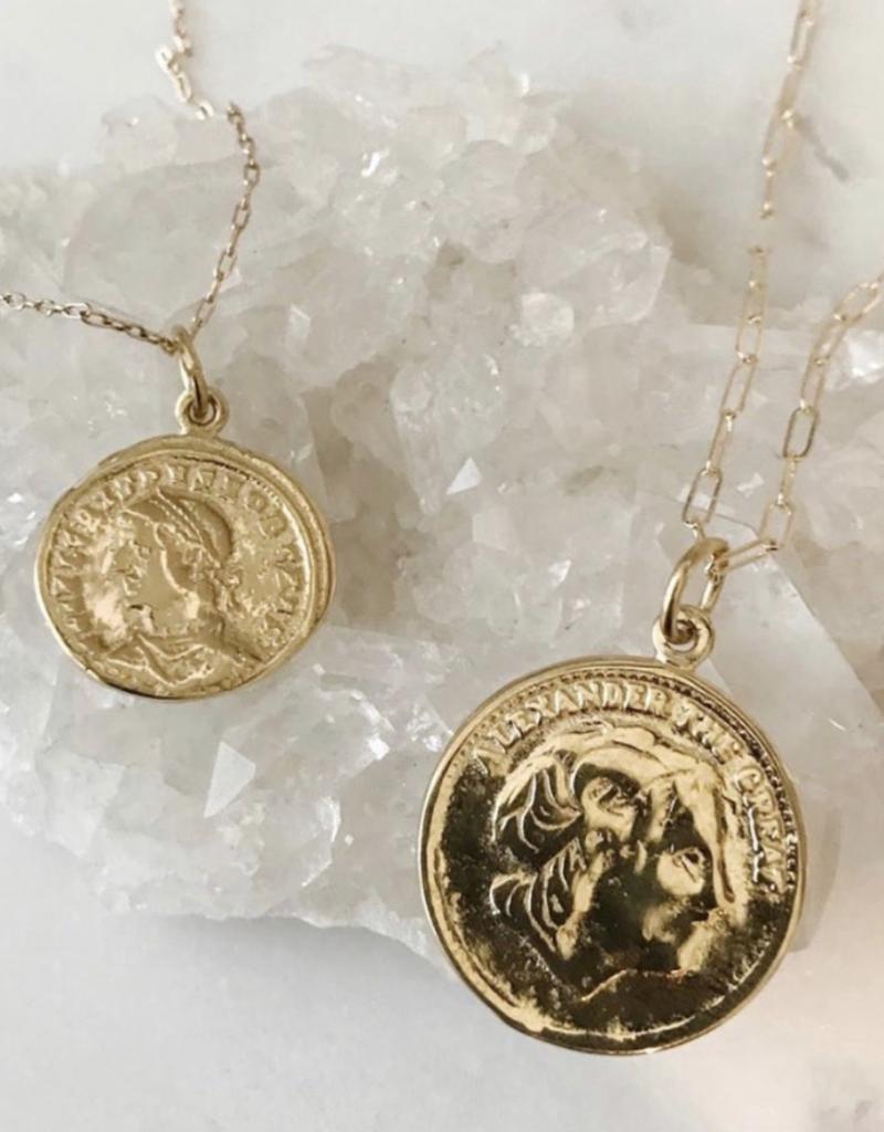 Bracha Alexander Coin Necklace
