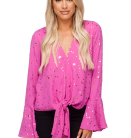 Buddy Love Samantha Tie Blouse