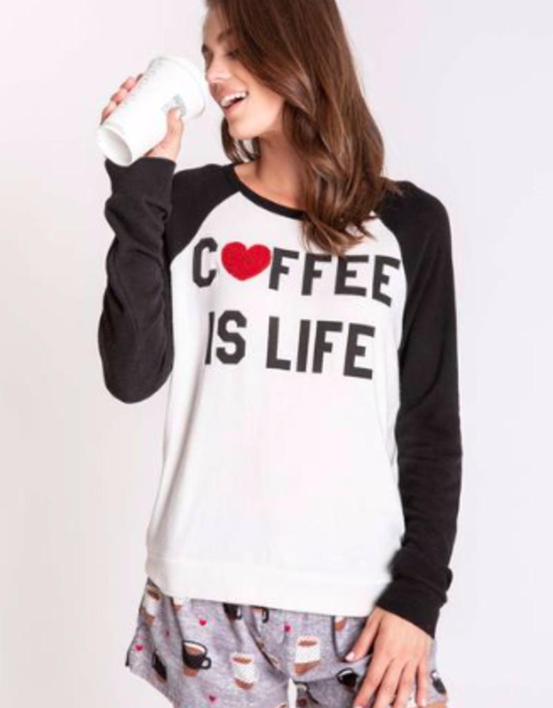 PJ Salvage Coffee Is Life Long Sleeve Tee