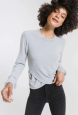 Z Supply Soft Spun Rouched Long Sleeve Top