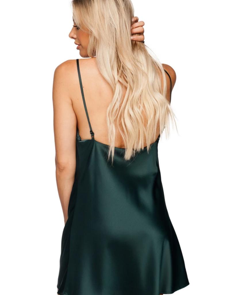 Buddy Love Celine Silk Mini Slip Dress