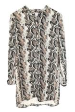 Cupcakes & Cashmere Clara Python Dress