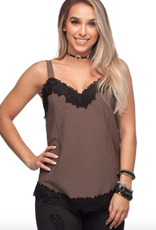 Buddy Love Kaylee Tank with Lace