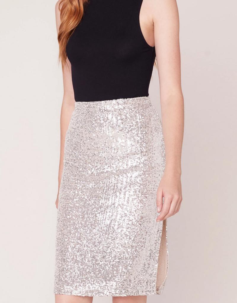 BB Dakota Spark This Joy Sequin Pencil Skirt