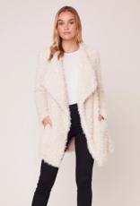 BB Dakota Soft Serve Drape Front Coat