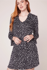 Jack by BB Dakota Cat's All Folks Leopard Shirt Dress