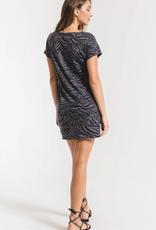 Z Supply Zebra V-Neck Tee Dress