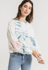 Z Supply Multicolor Tie-Dye Pullover