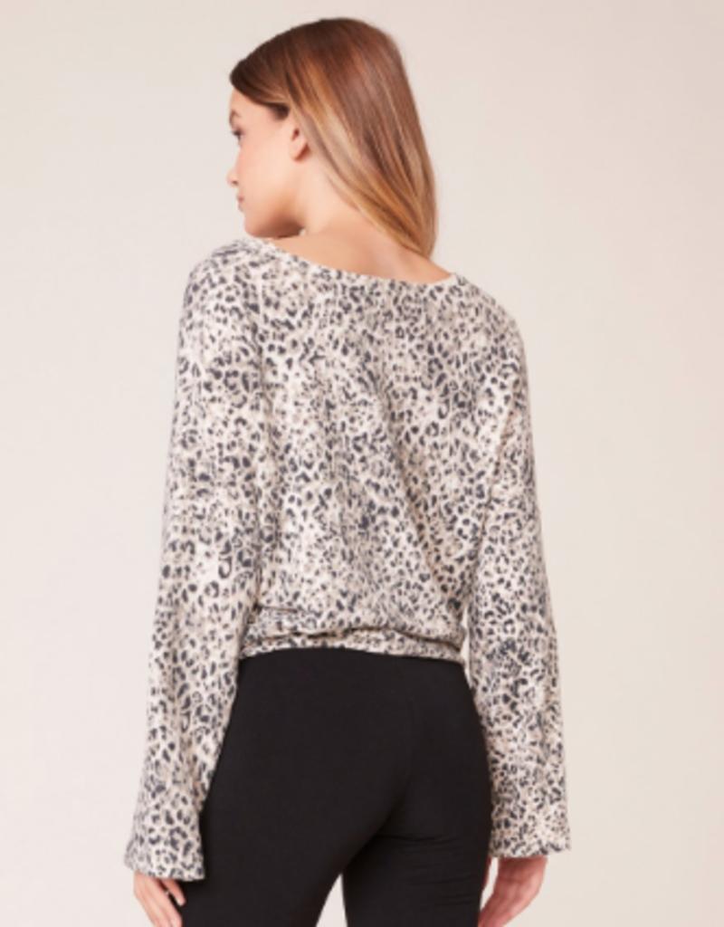 BB Dakota Purr My Last Email Cheetah Sweater