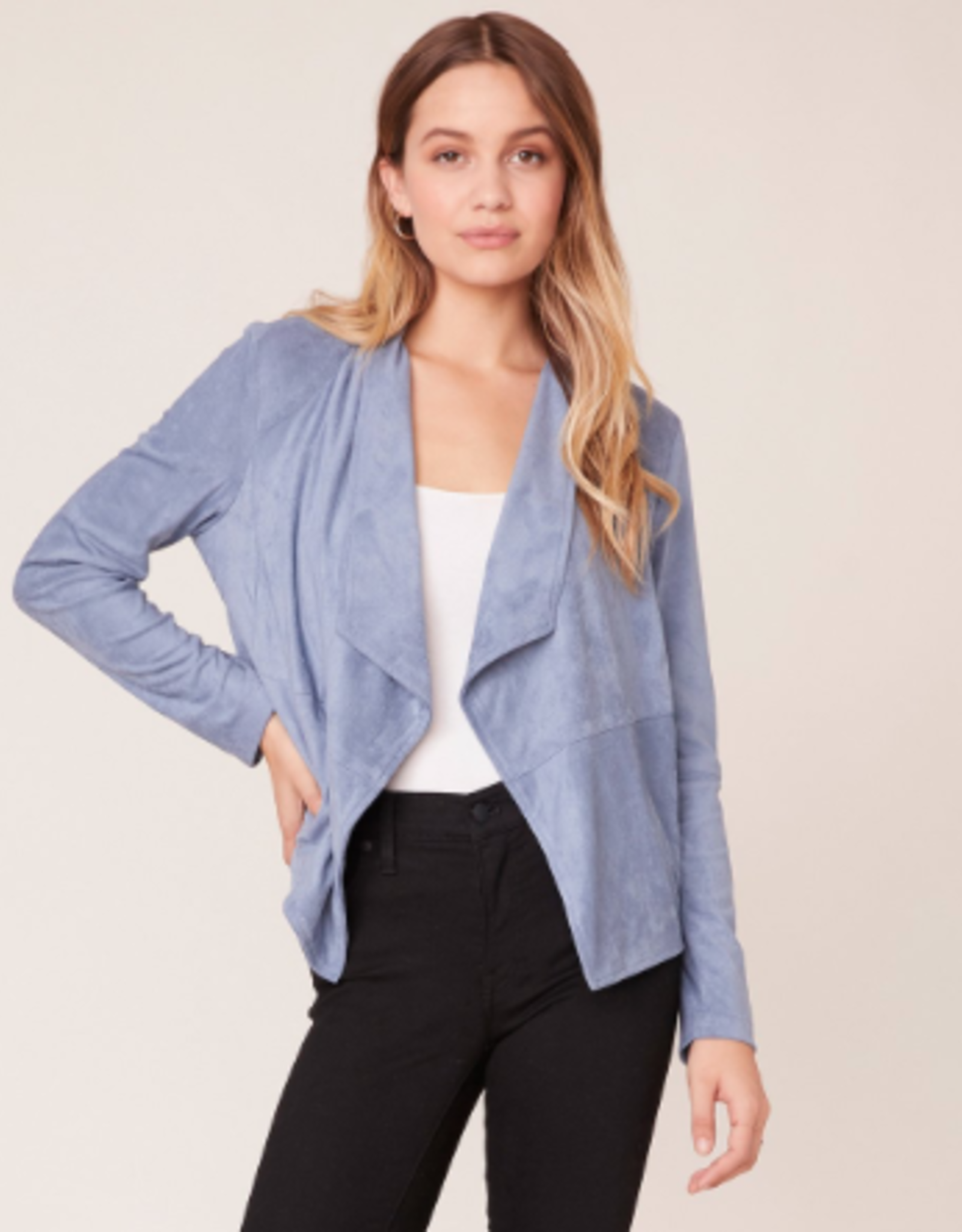 BB Dakota Suede It Out Faux Suede Jacket