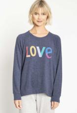 PJ Salvage Long Sleeve Love Icon Top