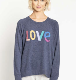 PJ Salvage Long Sleeve Love Icon Top