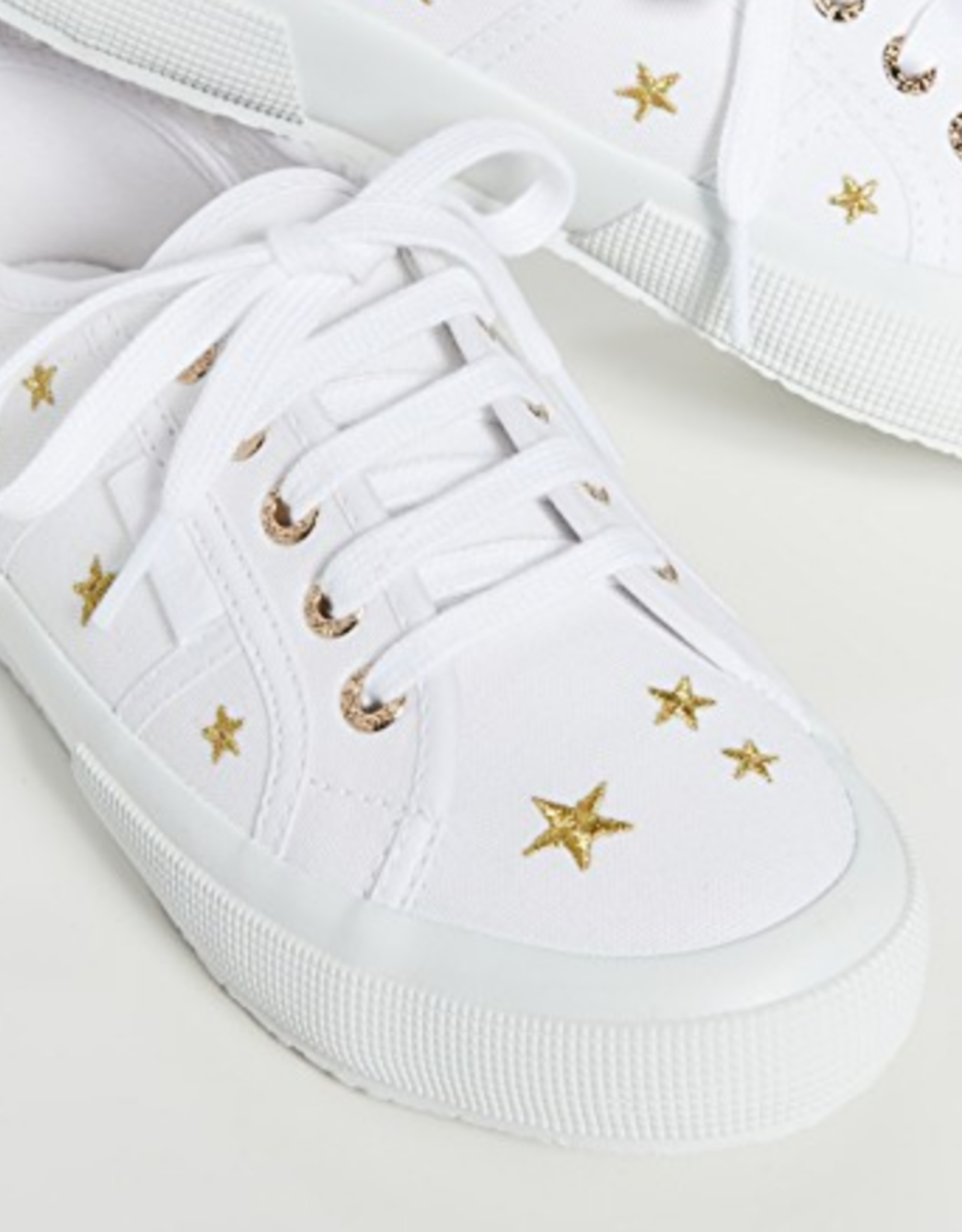 Superga Embroidered Star Sneakers