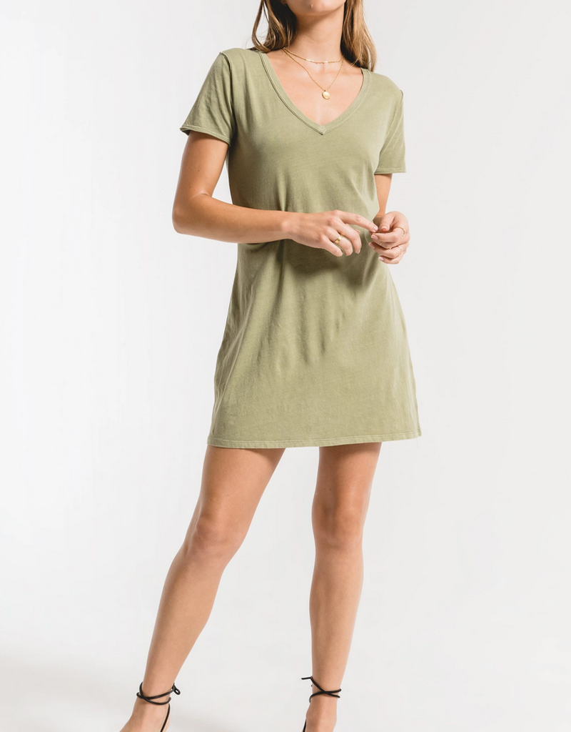 Z Supply Organic Cotton T-Shirt Dress