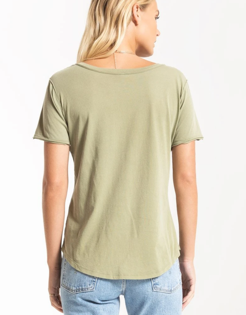 Z Supply Organic Cotton V-Neck Tee