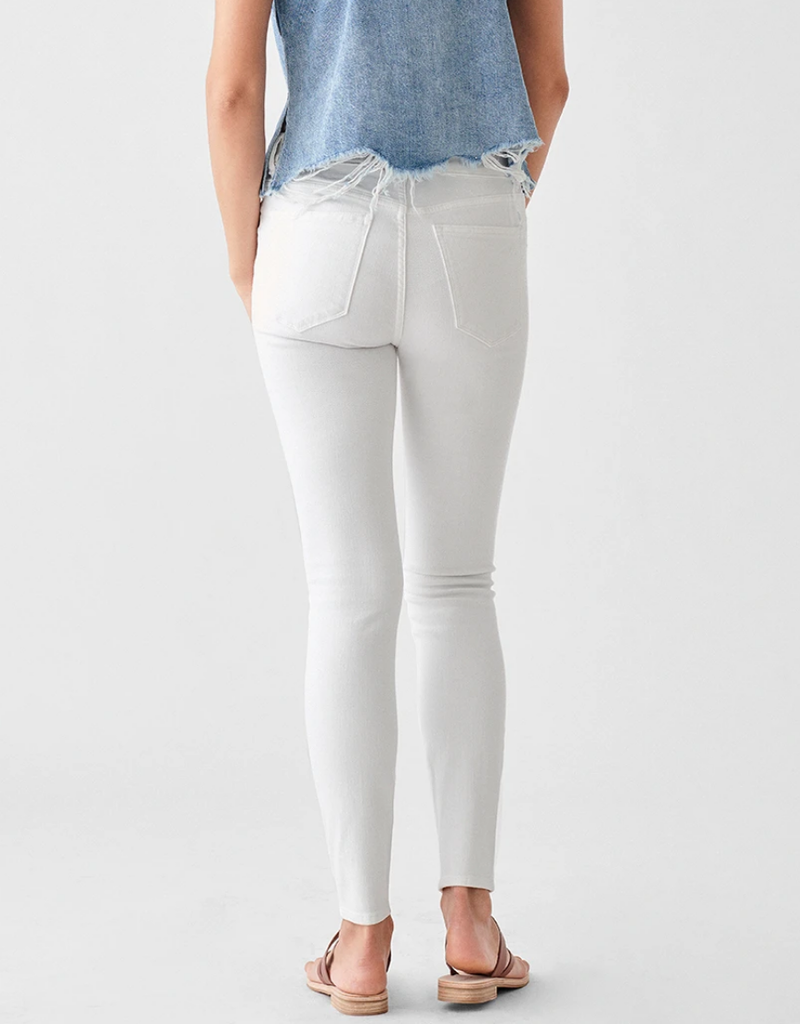 DL1961 Florence Ankle: Mid Rise Skinny