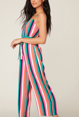 BB Dakota Flying Colors Striped Jumpsuit