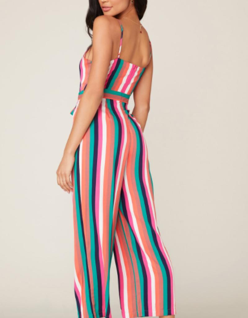 BB Dakota Flying Colors Striped Jumpsuit