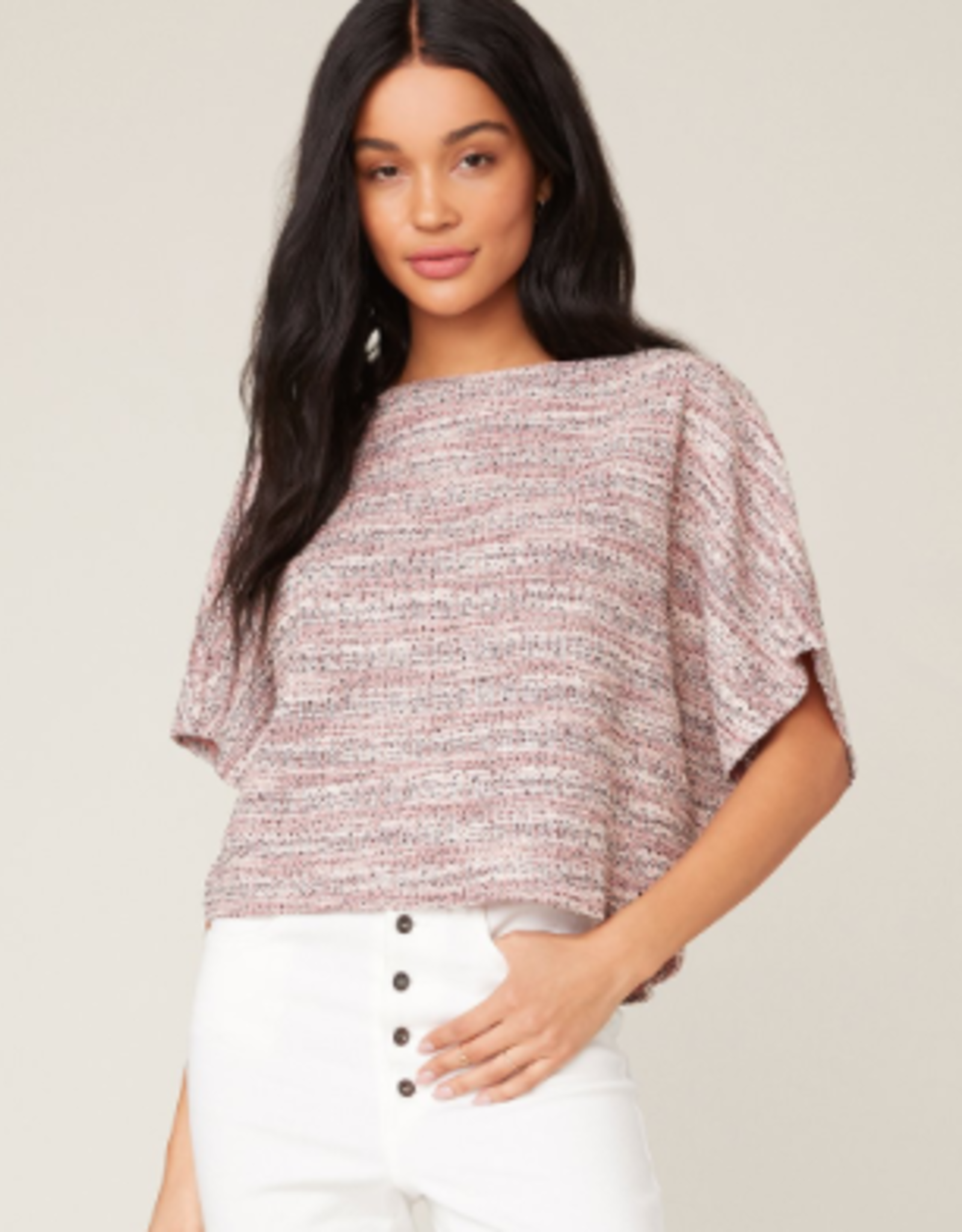 BB Dakota Boss Lady Slub Knit Top