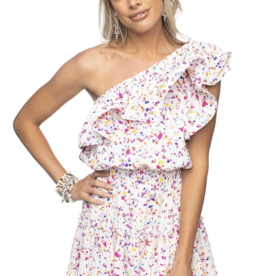 Buddy Love Sofia One Shoulder Dress