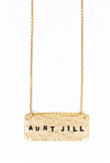 Jill Massey Personalized Initial Necklace