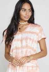 After Glow Tie Dye Top