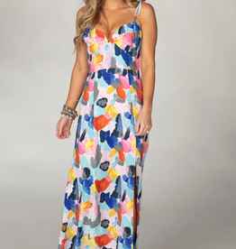 Buddy Love Essex Empire Waist Maxi Dress