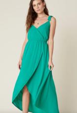 Jack by BB Dakota Ruffle & Cut Midi Dress