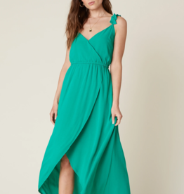Jack by BB Dakota Ruffle & Cut Midi Dress