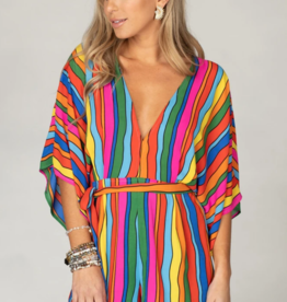 Buddy Love Rivers Rainbow Romper