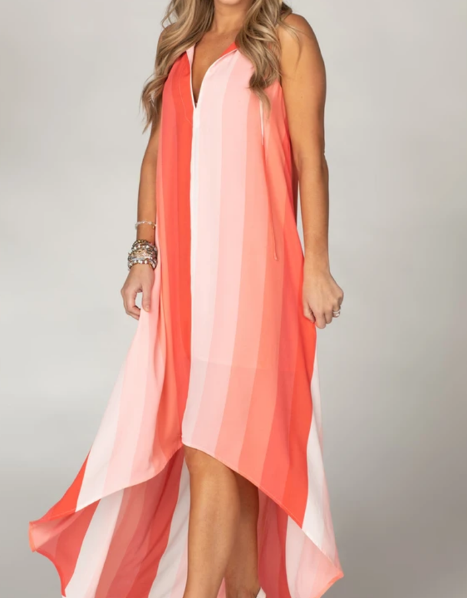 Buddy Love Campbell High-Low Maxi Dress