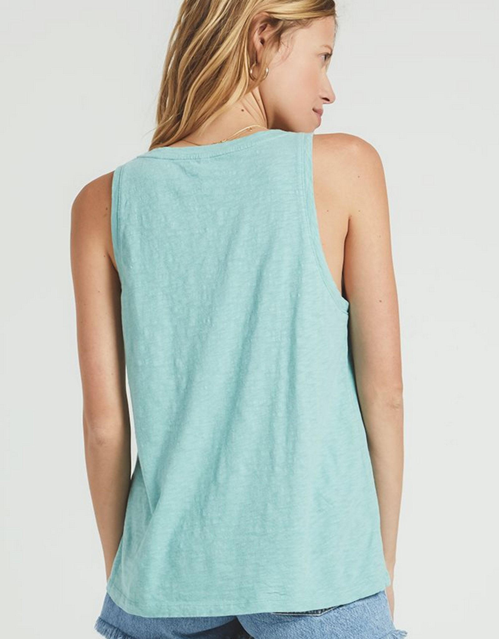 Z Supply Cotton Slub Scoop Tank