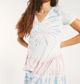 Z Supply Tie-Dye Side Knot Dress
