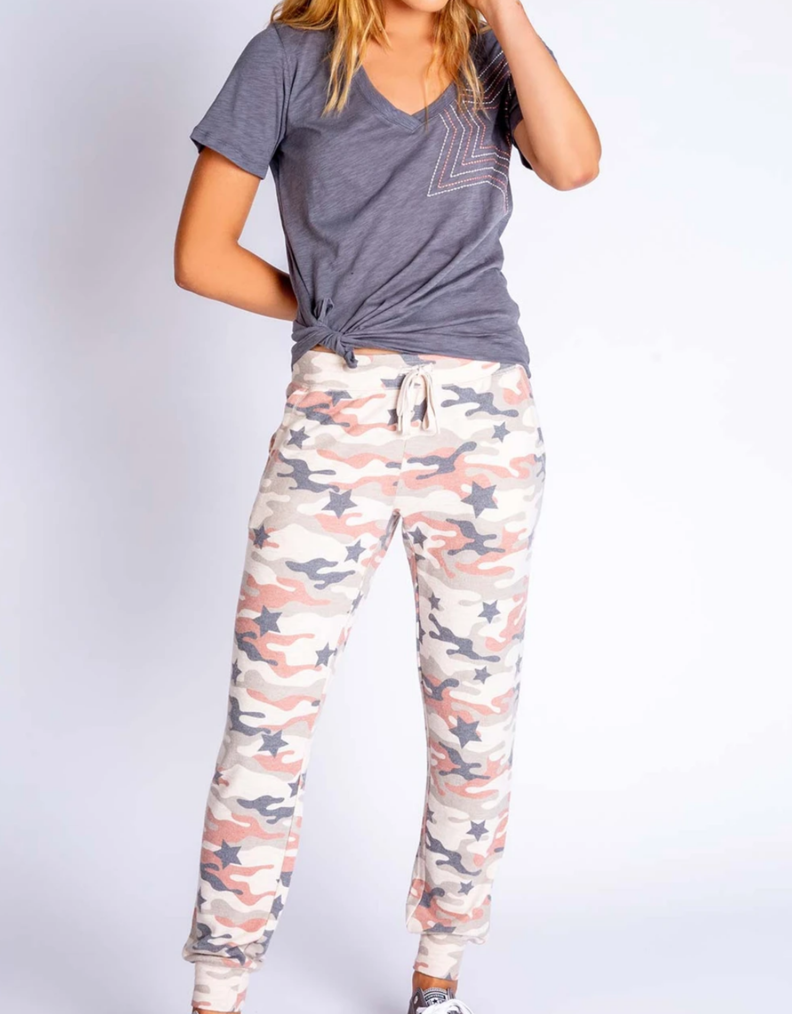 PJ Salvage Follow The Stars Banded Pant