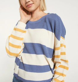 Z Supply Gracie Stripe Long Sleeve Top