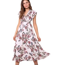 BB Dakota Elegant Domain Midi Dress