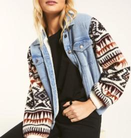 Z Supply Gia Knit Denim Jacket