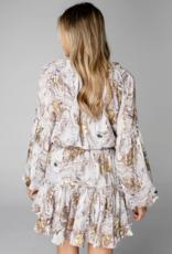 Buddy Love Zozo Elastic Waist Mini Dress