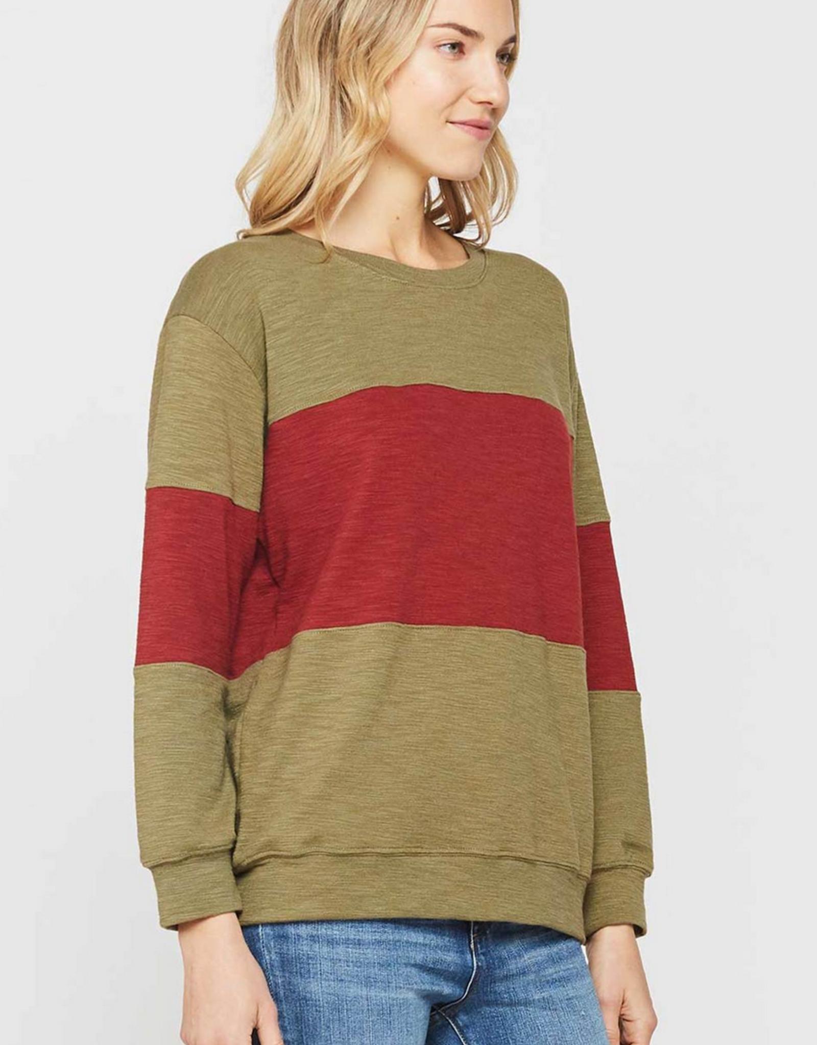 Velvet Heart Galena Color Block Sweatshirt