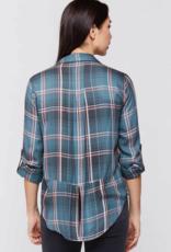 Velvet Heart Riley Plaid Button Up Shirt