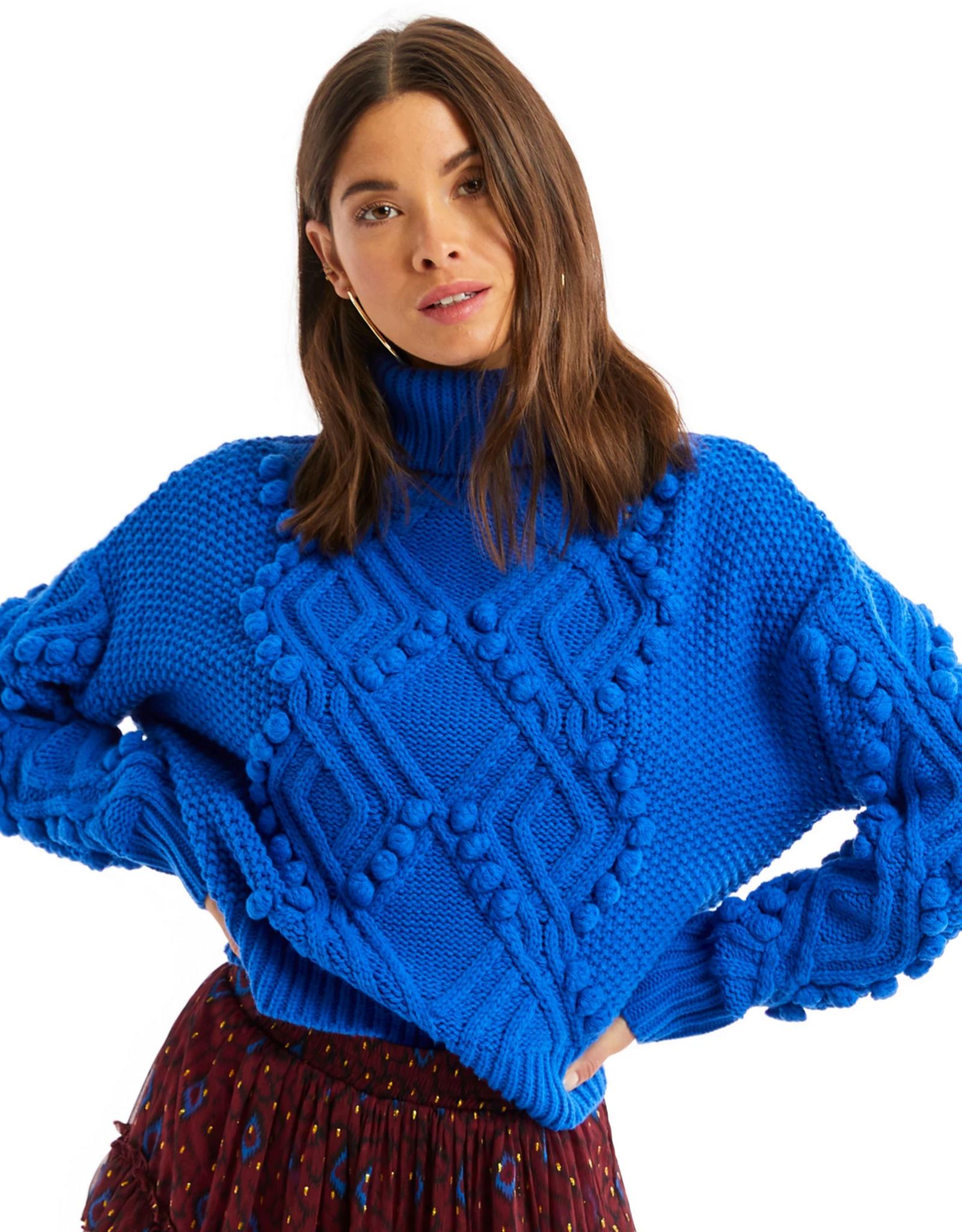Diamond Pom Sweater