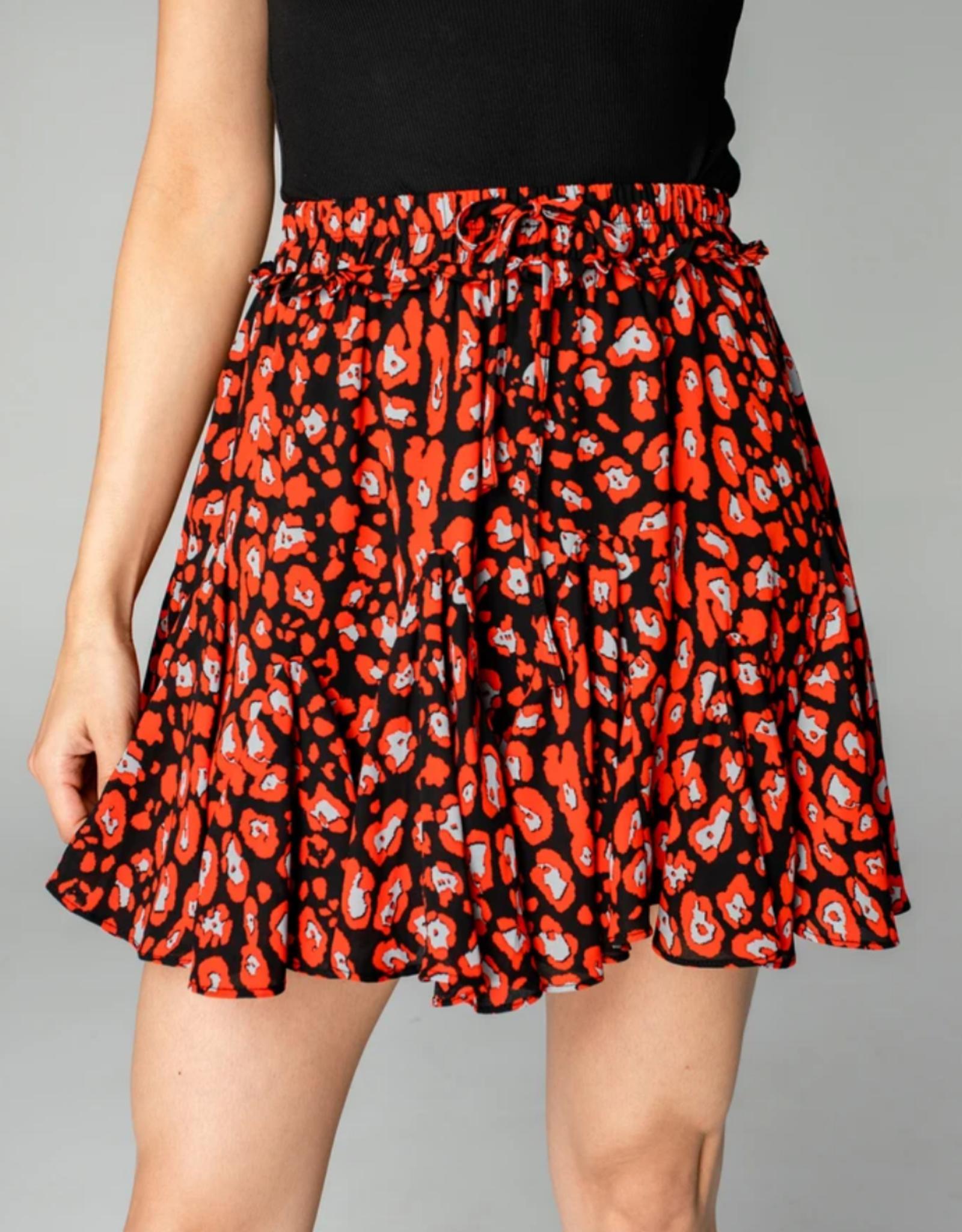 Buddy Love Presley Ruffled Mini Skirt