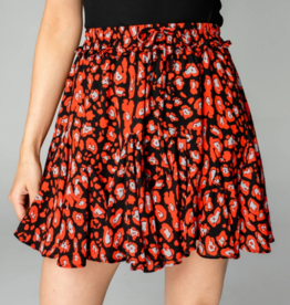 Buddy Love Presley Ruffled Mini Skirt